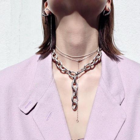 Norme necklace (Slim) / Silver925