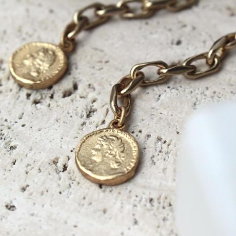 Aging coin pierce (2P)