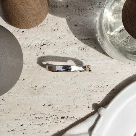 Moon surface slim bangle (mix color)