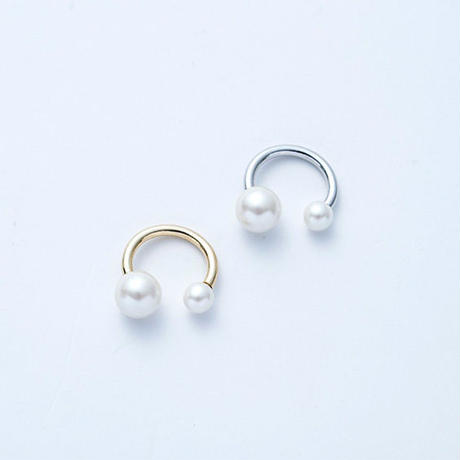 Pearl fork ring (2Pearl)