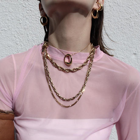 Neo hoop necklace (1P)