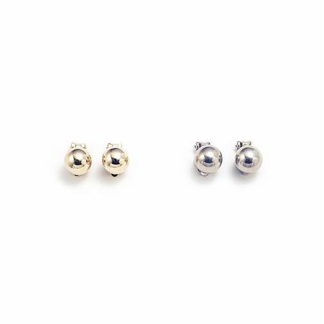 Metal stone earing (Round)