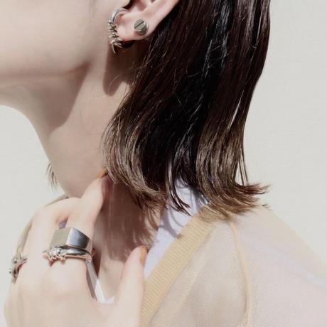 Slit bis magnet pierce (1P)[Unisex line]