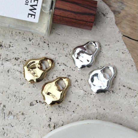 Ethical brass earing (2P)