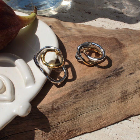 Tangled pinky ring (1P) (mix color)