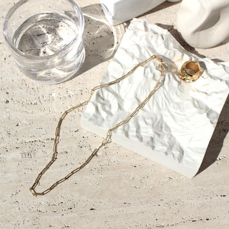 Norme long frame necklace / Women's (Gold)