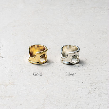 Moon surface ring (one color)