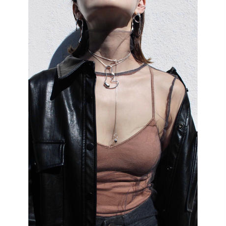 Crop wire necklace (one color)