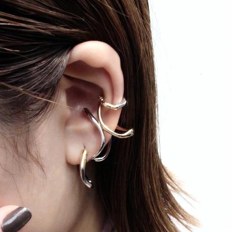 Petal hoop pierce / mix color (2P)
