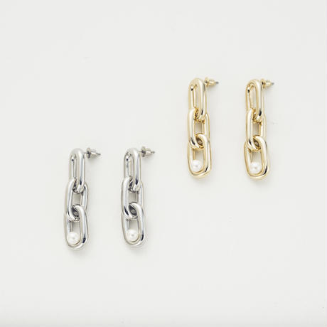 Industrial pierce (3Parts/Pearl)