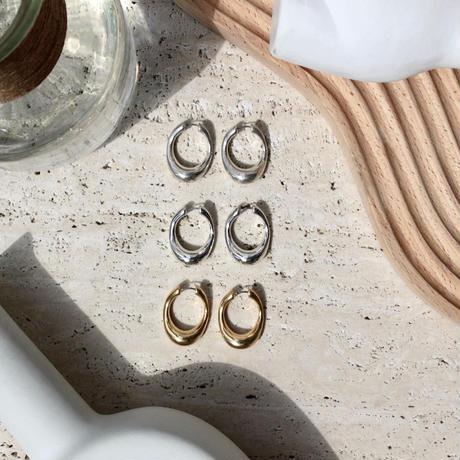 Neo hoop pierce (2P)