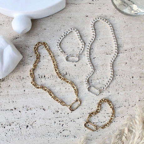 Neo standard flat necklace