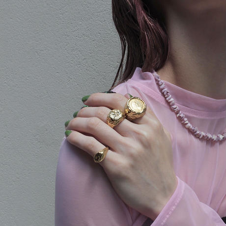 Aging pinky cuff ring (1P)