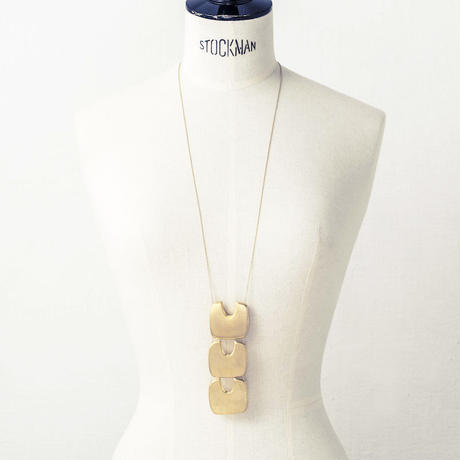 Stone tool necklace