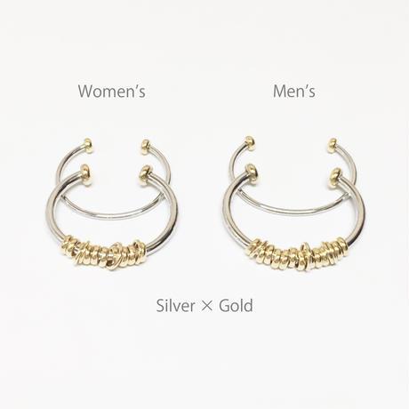 Coil bangle (2P) / Men's