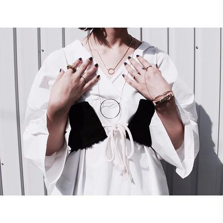 Cord necklace (2Set)