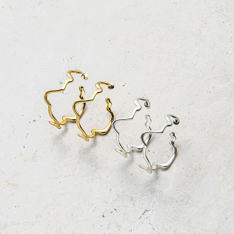 Mangata hoop pierce (2P)