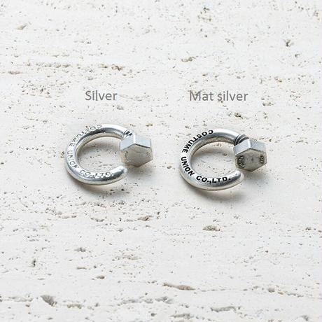 Nut earcuff ring (Mens size only) [Unisex line]