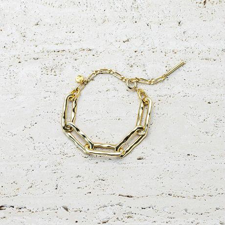 Aging chain bracelet
