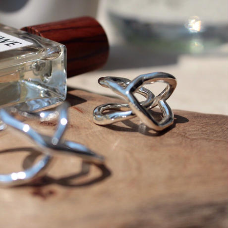 Tangled pinky ring (1P) (one color)