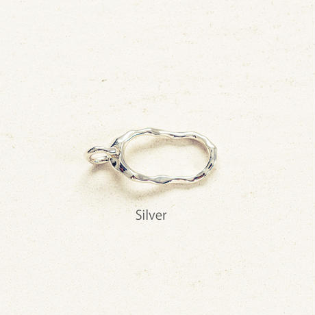 Peg double ring / Silver