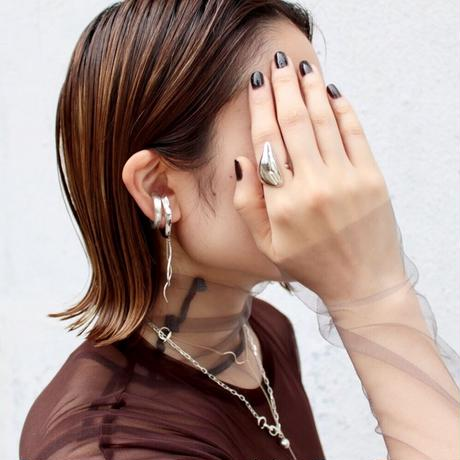 Flow earcuff ring (1P)