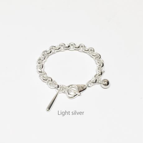 Collar bracelet / Light silver