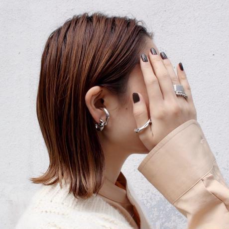 Dent earcuff ring [Unisex line]