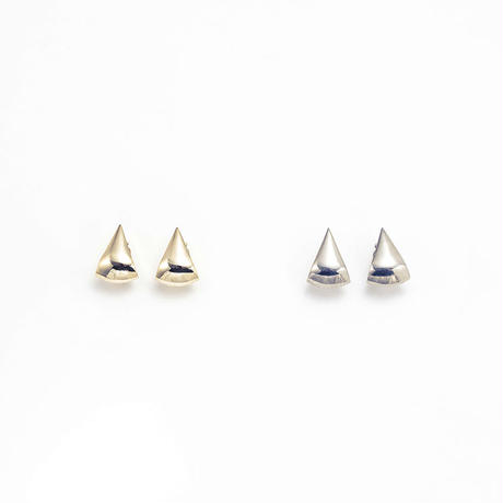 Metal stone earing (Triangle)