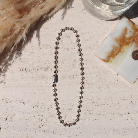 Ball chain necklace / 6.5mm  / Gross silver[Unisex line]