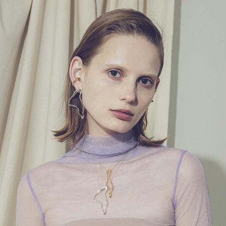 Female slim necklace (1P)