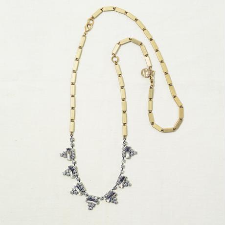 Triangle bijou necklace