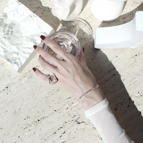 Norme long frame bracelet (Silver)