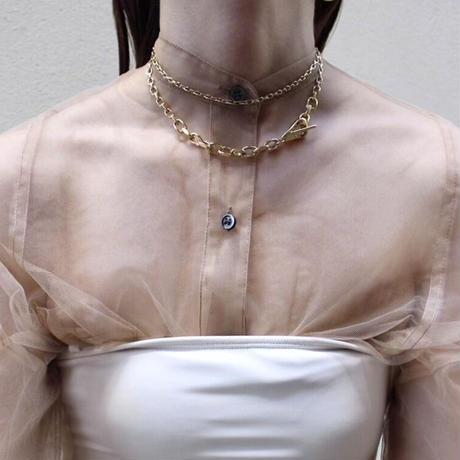 Mantel long necklace