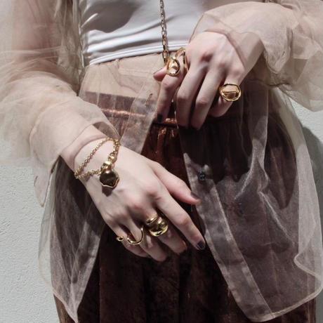 Ethical brass bracelet(2way:Bracelet & Choker)