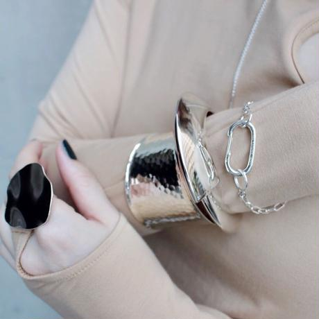 Clip slim bracelet