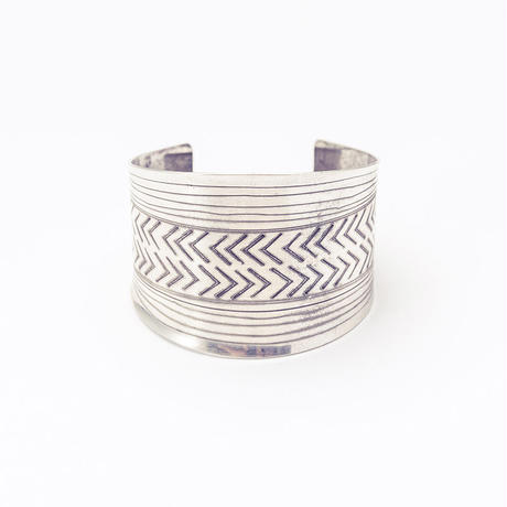 Modern tribal bangle