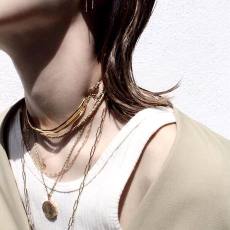 Norme necklace (Slim) / K10YG