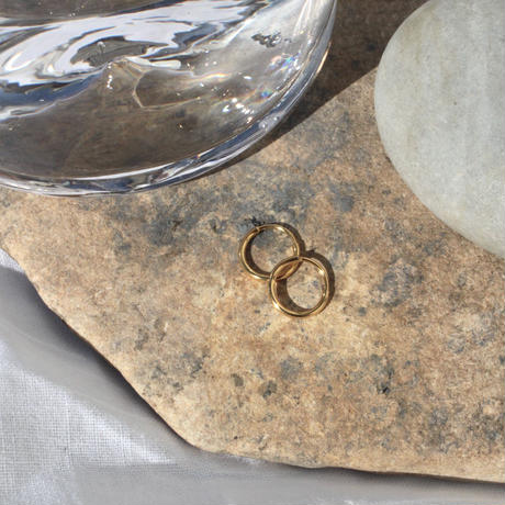 Halo hoop pierce (Small/2P) / Gold
