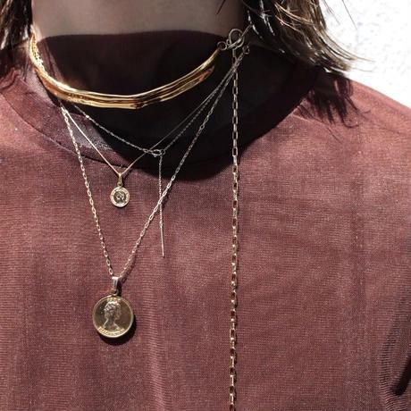 Norme necklace (Bold) / K10YG