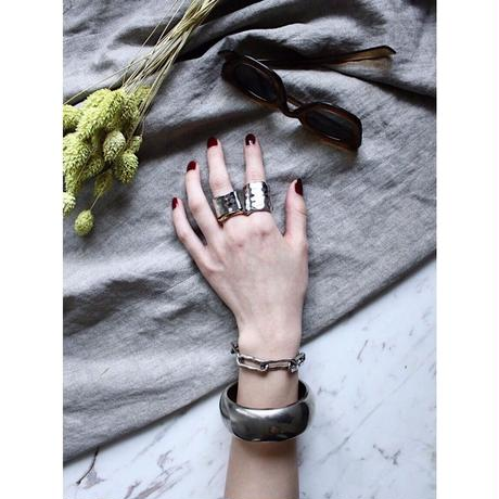 Natural metal ring (Large)