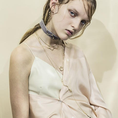 Constellation hoop necklace (2set)