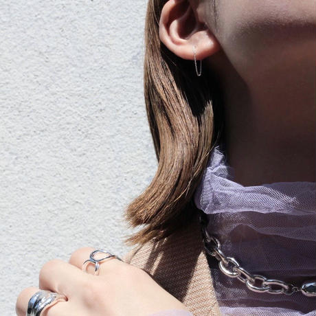 Crop chain necklace