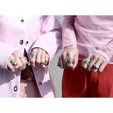 Neo hoop pinky ring