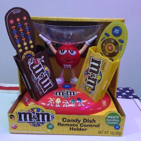m&m's Candy Dish Remote Control Holder