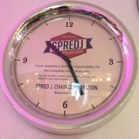 WALL CLOCK  SPREDJ