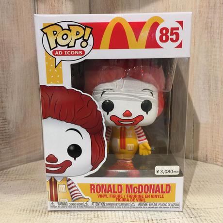 マクドナルド  FUNKO POP! ドナルド・マクドナルド ファンコ ポップ McDONALD