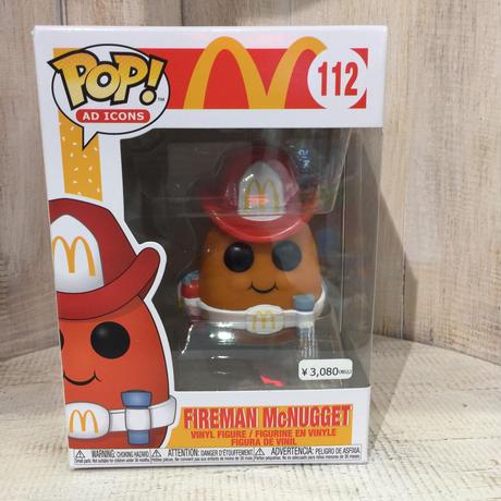 マクドナルド  FUNKO POP! ファイヤーマン・マックナゲット FIREMAN McNUGGET ファンコ ポップ