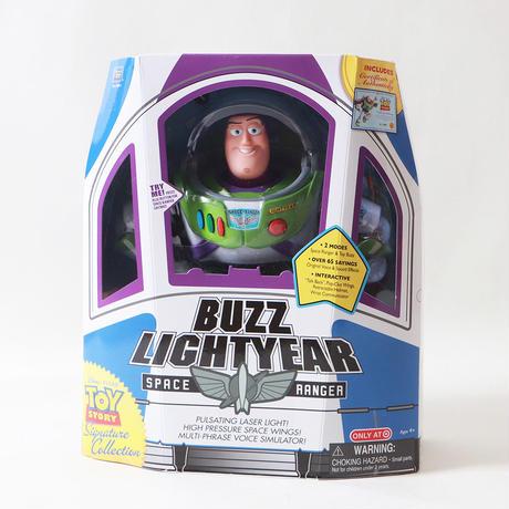 トイストーリー シグネチャーコレクション バズ・ライトイヤートーキング フィギュア Thinkway toys