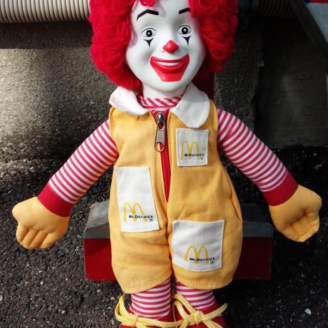McDonaldo's ドナルド・マクドナルドフィギュア